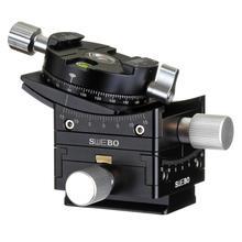 Précision la sélection de la tête de trépied de décalage 15 ° curseur pour la construction de paysages panoramique prise de vue vidéo pour canon nikon sony appareil photo