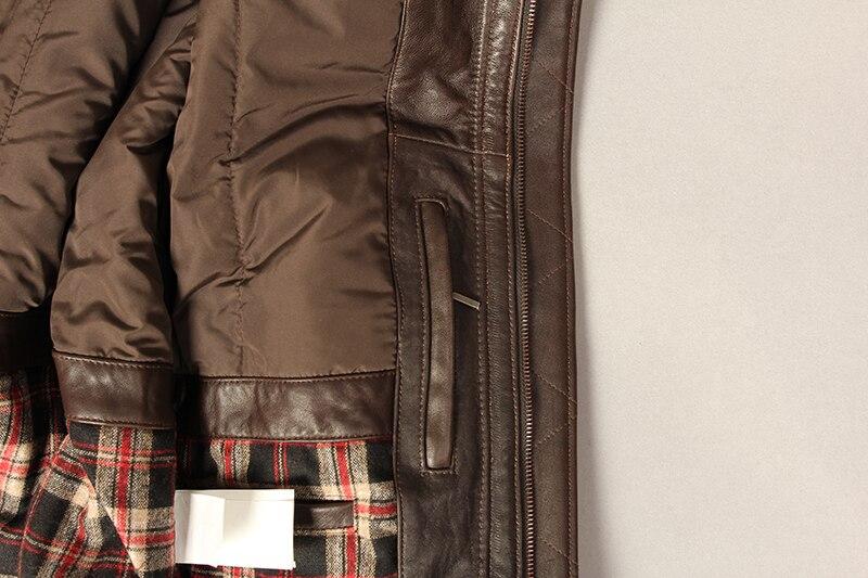 Heaeb7ad66c1c4ceb9a0feb37dc17bcd7H Military air force flight jacket fur collar genuine leather jacket men winter dark brown sheepskin coat pilot bomber jacket