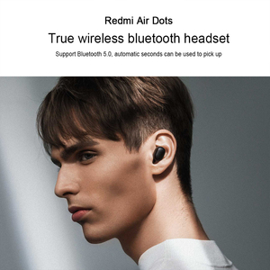 Image 3 - Xiaomi Redmi AirDots 2 Wireless Bluetooth 5.0 Charging Earphone In Ear stereo bass Earphones  AI Control Ture Wireless Earbuds