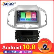 Radio Multimedia con GPS para coche, Radio con DVD, Android 11,11, 4 GB RAM, navegador, para Chevrolet Captiva Epica 10,0, 2012, 2013