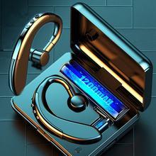 Tws деловая гарнитура bluetooth 50 наушники беспроводная для