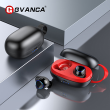 GVANCA i-26 TWS 5.0 Bluetooth Earphones Truely Wireless Earphone Earbuds Headphone Headset Active Noise Cancelling with Mic new 550bt active noise cancelling wireless bluetooth earphones wireless headset with mic 3d surround sound comfortable