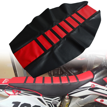 Motocross rubber soft seat cover For Honda CR CRF CRM SL 125 150 230 250 450 480 500 50 80 85 1000 X R L F M RX AR RWE RALLY image