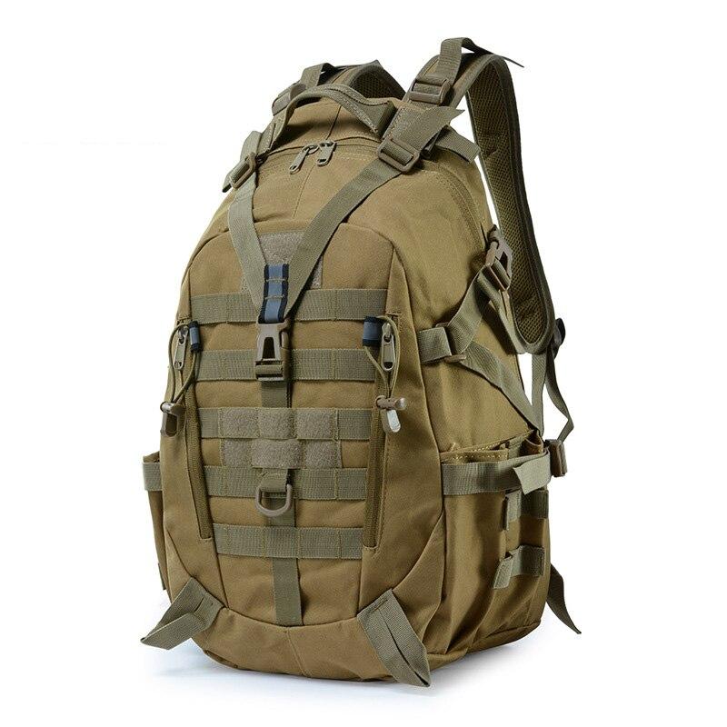 35L ยุทธวิธีกองทัพทหารกระเป๋าเป้สะพายหลังกระเป๋าเดินทาง MOLLE ปีนเขาเดินป่ากลางแจ้งกีฬากระเป๋...