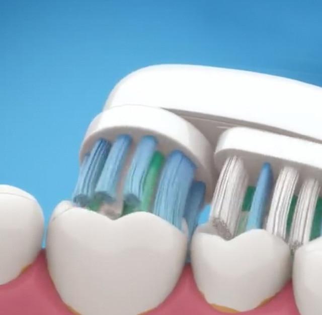 4 шт. сменные насадки для зубной щетки для Oral B вращения Тип сменные головки для электрической зубной щетки/Pro Здоровье/Triumph/ Advance Мощность