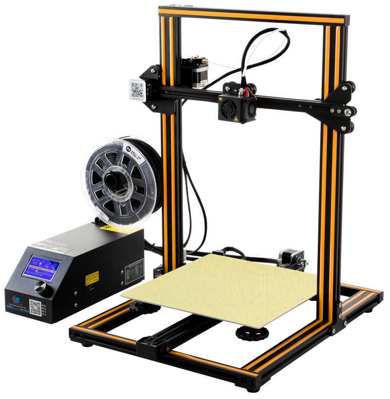 Creality CR-10S 3D Printer Kit V2.1 Papan Utama Industri Proses Sumbu Z Sekrup Ganda Desain MK10 Ekstrusi Mekanisme
