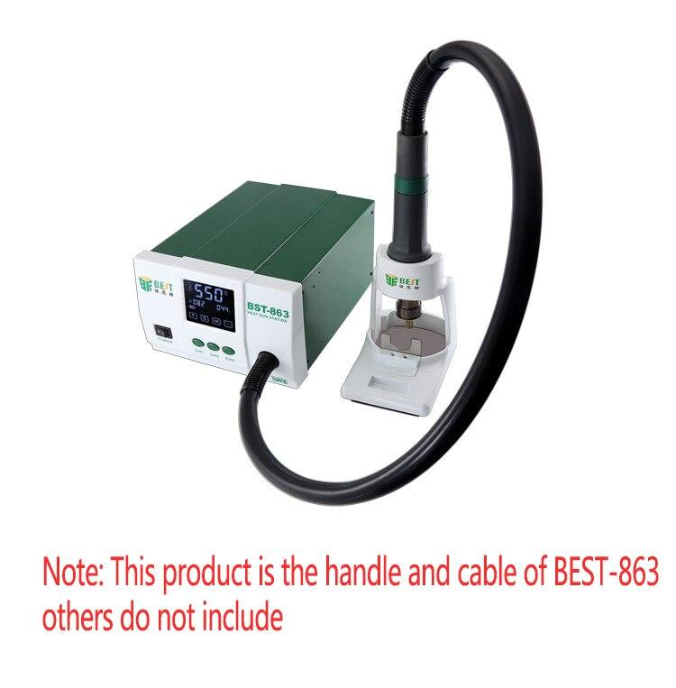 Tools : Best-863 welding station handle mobile phone repair tool accessories Handle   tube for BEST-863 hot air desoldering station