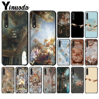 Palace of versailles The Creation of Adam Art Phone Case For Huawei P20 P30 P9 P10 P8 lite 2016 2017 P20 pro P10 lite Mobile image