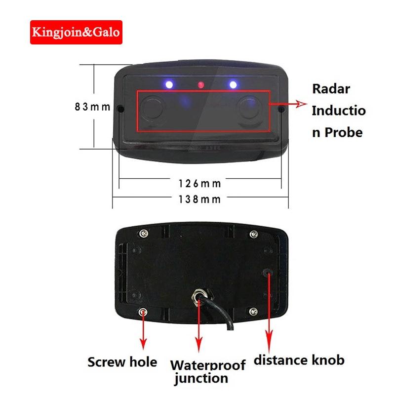 Radar Vehicle Detector Obstacle Induction Controller Anti-smashing Radar Induction Radar Detector Laser