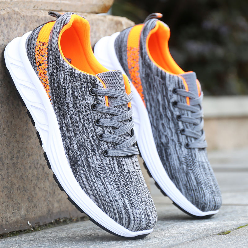 Breathable Sneakers Boys Sport Shoes Men Air Mesh Sneakers Wedges Casual Shoes Man 2020 Fashion