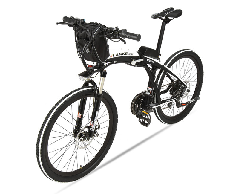Lankeleisi 189.47 electric bicycle, folding bicycle, 26 inches, 36/48 V, 240 W, disk brake, fast folding, mountain 21