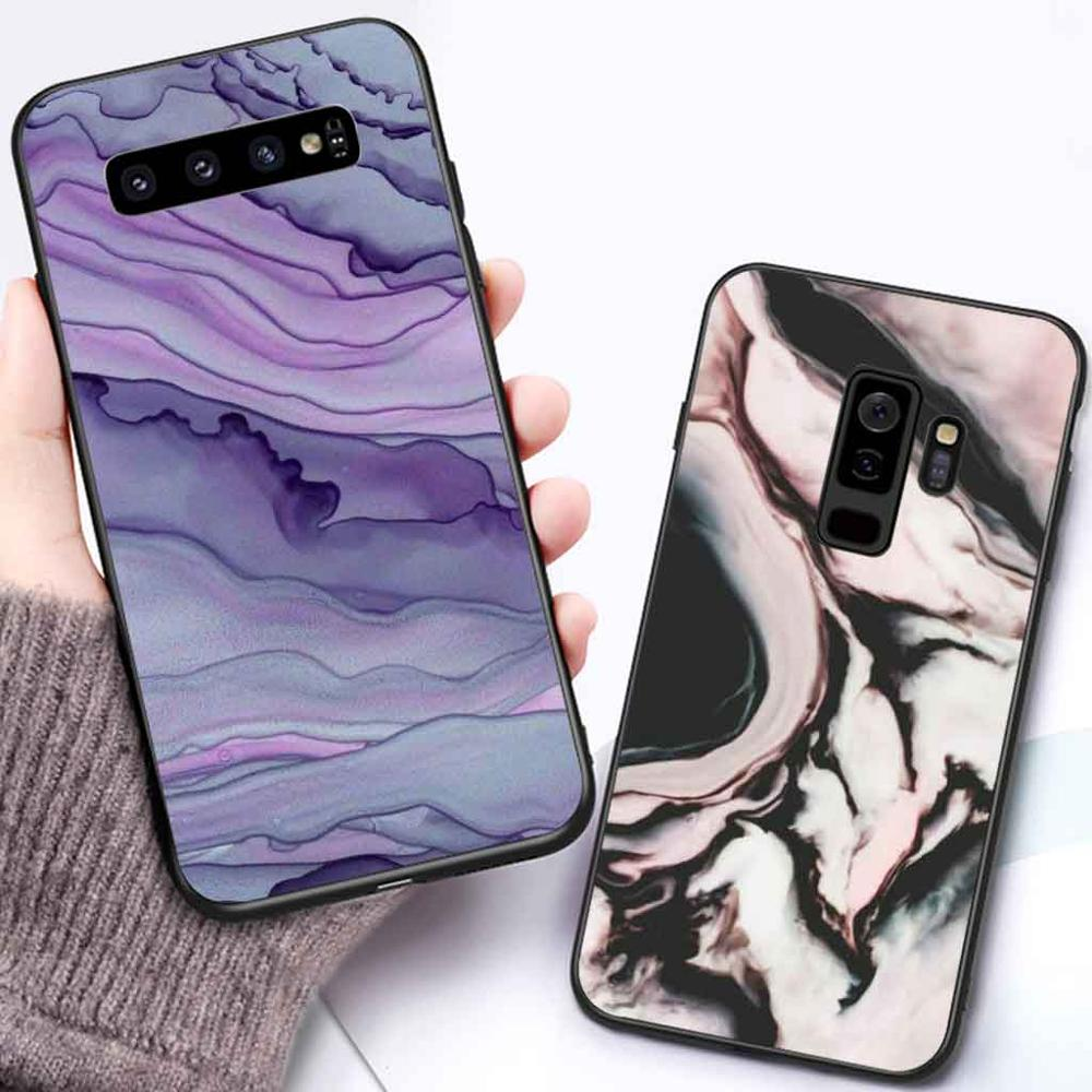 Phone-Case Coque Back-Cover Marble S8plus S7-Edge Soft-Silicone Samsung Galaxy Note 8