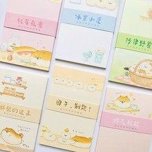30 folhas Bonito Gordura Pão Cachorro Almofadas de Memorando bloco de Notas Papelaria material de Escritório Escola