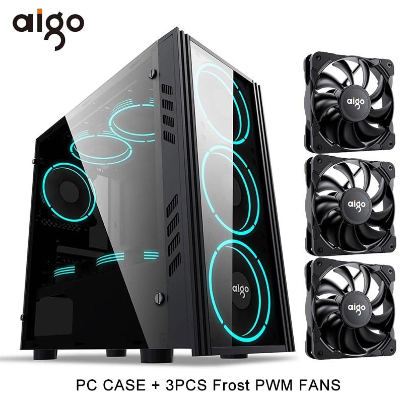 pc case and 3PWM Fan