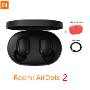NEW Original Xiaomi Redmi Airdots 2 True Wireless Bluetooth 5.0 earphone Voice control With Mic Handsfree Earbuds AI Control
