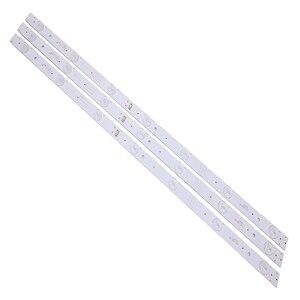 Image 2 - 100% nowy 9 sztuk/zestaw podświetlenie LED strip 5800 W32001 3P00 05 20024A 04A dla LC320DXJ SFA2 32HX4003 7LED 607mm