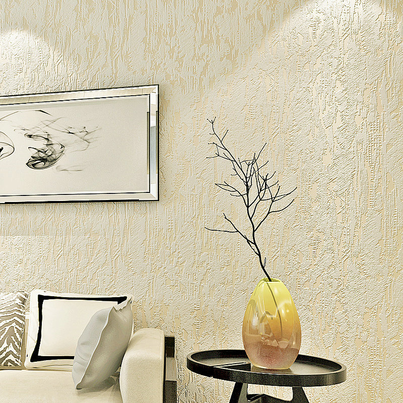 Simple Solid Color Plain Color Nonwoven Fabric Faux Diatom Mud Wallpaper Clothing Store Living Room Hotel Hallway Wallpaper