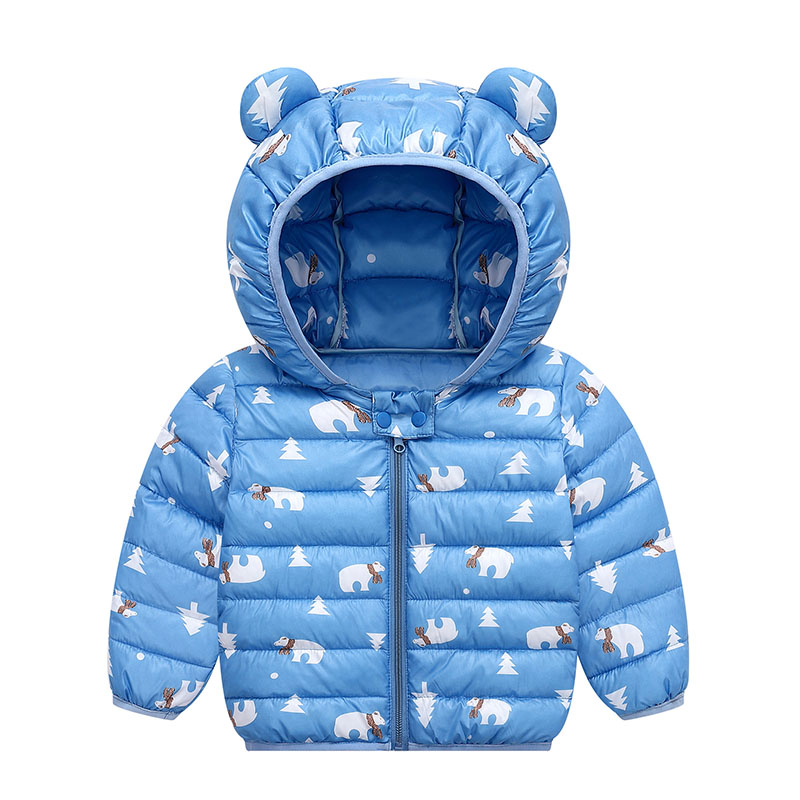 Baby Coats Kids Winter Jackets Hooded Children 1-5 Years Cotton Parkas Baby Girl Clothes 2019 Fashion Warm Toddler Outerwear