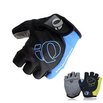 1 par metade do dedo luvas de ciclismo da bicicleta luvas do esporte das mulheres dos homens da bicicleta ginásio luvas de fitness mtb 1