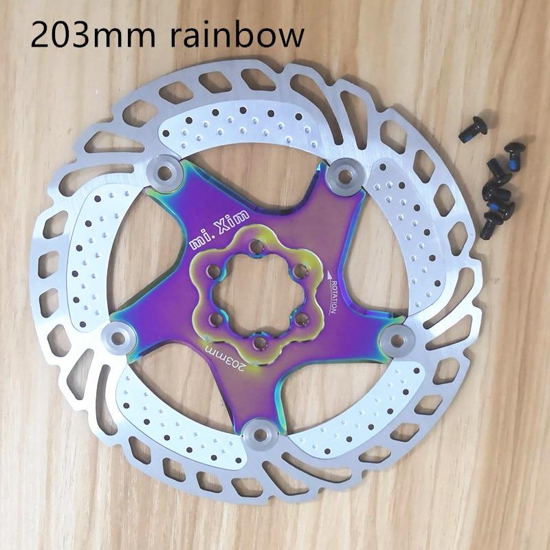 ZOOM 140//160//180//203mm Rotors MTB Bicycle Bike Disc Brake 6 Bolts Rotor Steel UK
