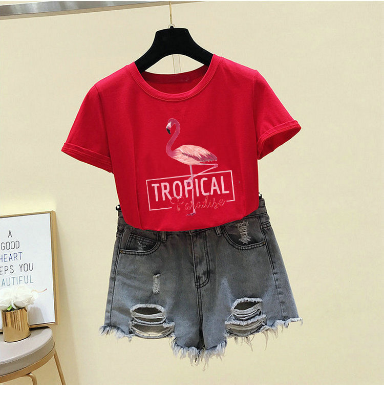 Heaeed12996f341eb9b02f3c5b822396aS - Harajuku White T shirt Women Clothes Red Summer Vintage Pink Cotton TShirt Women Tops Korean Kawaii Print Black Tee Shirt