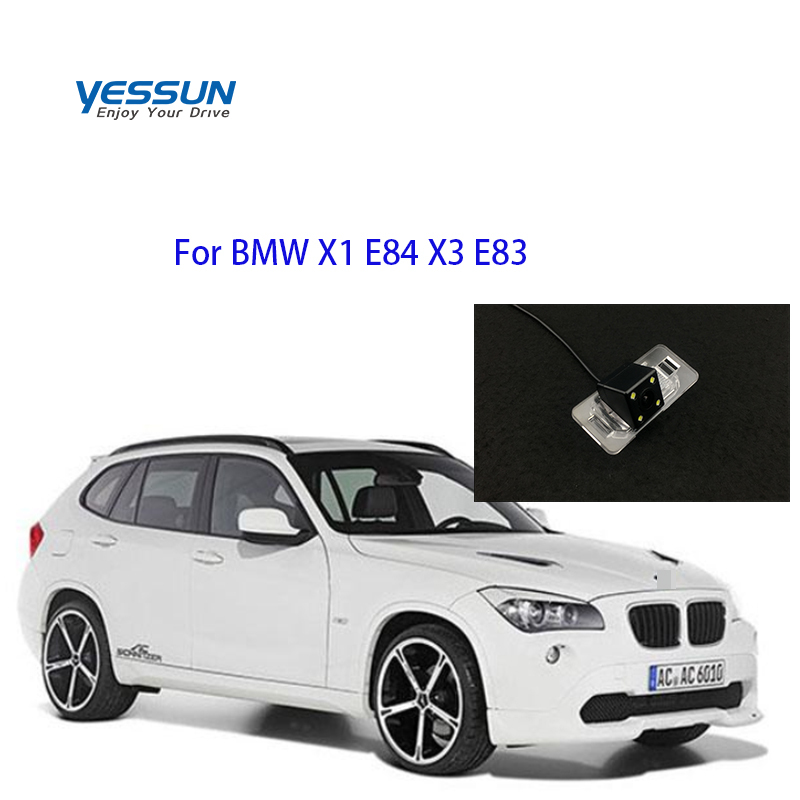 Auto Accessorie Car Camera Auto Night Vision Car Rear View Reverse IP67 For BMW X1 E84 X3 E83