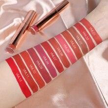 O.TWO.O Matte brillo de labios 12 unids/set impermeable de larga duración de terciopelo líquido lápiz labial tinte de labios pigmento rojo labios Kit de maquillaje
