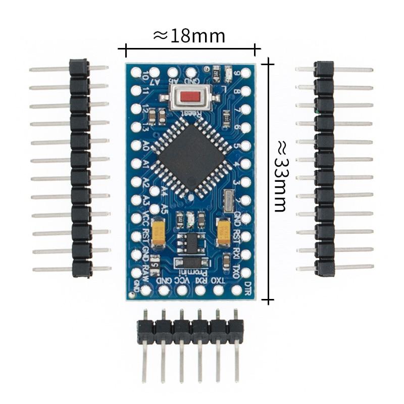 New With The Bootloader Pro Mini ATMEGA328P 328 Mini ATMEGA328 5V/16MHz 3.3V/8MHZ For Arduino
