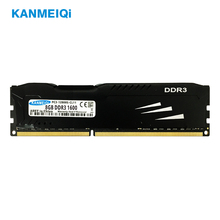 KANMEIQi DDR3 ram 8GB 1600MHz 4gb 1333/1866MHz Desktop Memory with Heat Sink dimm 240pin 1,5v Memoria kingston rams desktop memory ddr3 1600mhz 1 5v 4gb 8gb