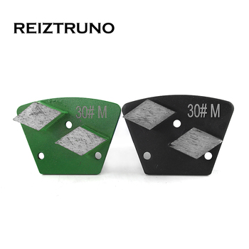 REIZTRUNO 1 piece  triangle Floor grinding tools with two rhombus segments  metal bond Diamond Grinding Disc For Concrete rhombus triangle faux gem necklace