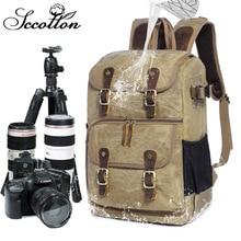 CamDress Camera bag backpack Batik Canvas Waterproof Outdoor Wear-resistant Dslr National geographic Photo