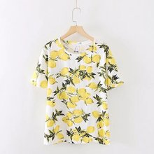 New summer top embroidery floral ladies t shirt women tops w