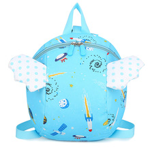 New Fashion Baby Harness Backpack Kids Bag Carrier Cartoon School Bag For Kindergarte Baby Boy Girl Anti-lost Backpacks