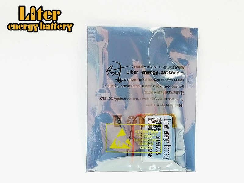 Batterie li-polymère 502025 v 3.7 mah rechargeable SD 200 avec CE, MSDS, Rohs