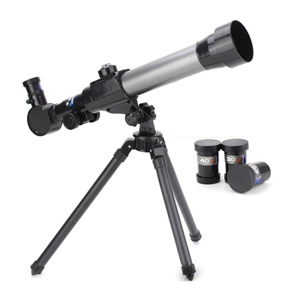 Telescopio astronómico refractivo INS con trípode palanca ajustable 40X Zoom Refractor Monocular alcance juguete educativo para niños nuevo Hismith máquina de sexo adaptador sexo juguetes para adultos 4,5
