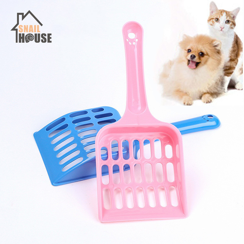 Snailhouse Cat Litter Shovel Pet Cleanning Tool Plastic Scoop Cat Sand Cleaning Products Toilet For Dog Cat Clean Feces Supplies