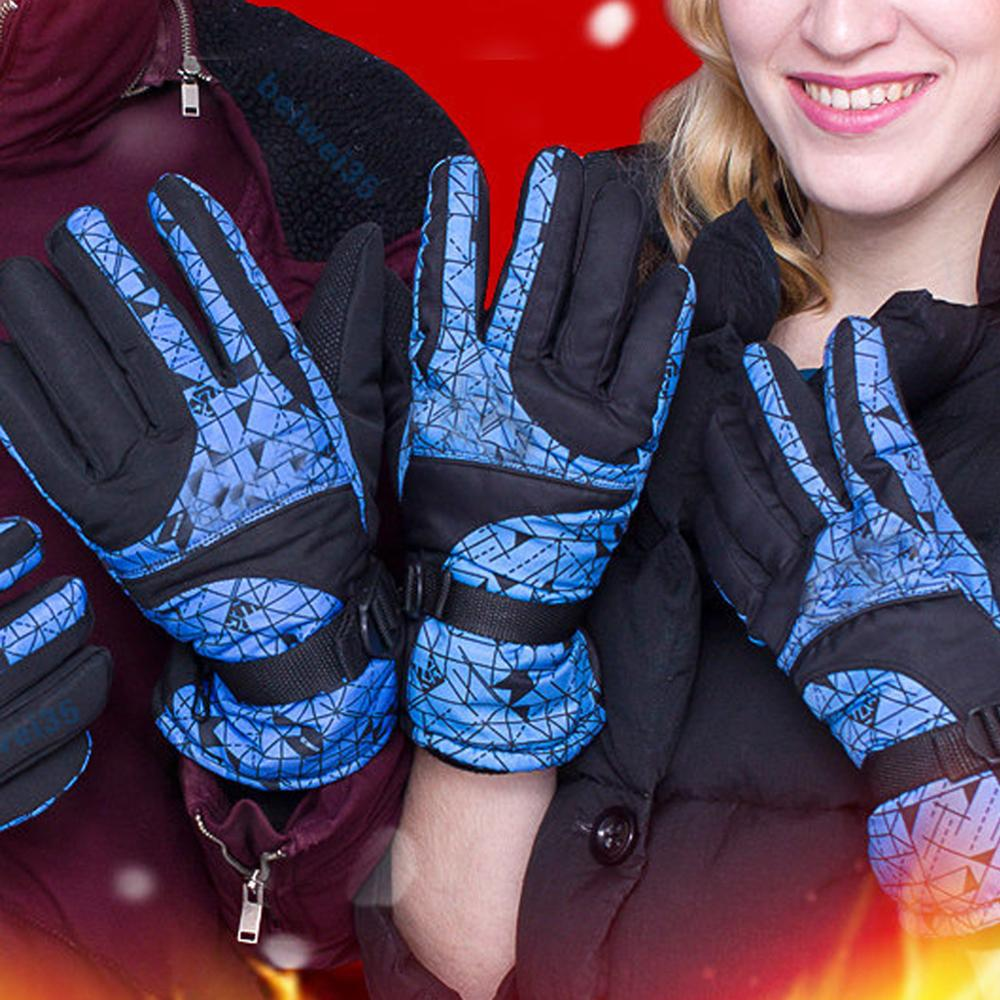 Winter Warm Gloves Men Ski Gloves Women Snowboard Gloves Snowmobile Motorcycle Riding Winter Gloves Windproof