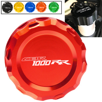 For Honda CBR1000RR CBR 1000RR CBR1000 1000 RR 2004-2020 2008 2009 19 Motorcycle Accessories Cylinder Reservoir Cover Rear Fluid image