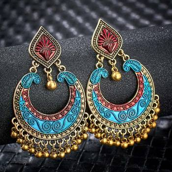 Fashion Metal Dangle Earrings Earrings Jewelry Women Jewelry Metal Color: S01120