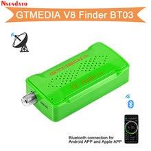 GTMedia Freesat V8 Finder BT03 DVB S2 Satfinder satelitarny dla androida IOS 1080P cyfrowy DVB-S2 Bluetooth HD wizjer satelitarny