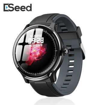 ESEED SN80 smart watch männer IP68 WASSERDICHTE lange standby 1,3 zoll full touch bildschirm allloyheart Rate smartwatch dropshipping