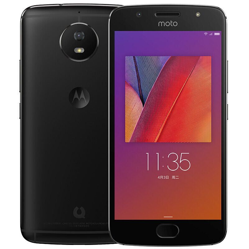 4G Phone Moto G5S 4GB 64GB Black Smartphone 5.2'' Snapdragon 430 Octa Core Cellphone Android Mobile Phone Support NFC Global ROM