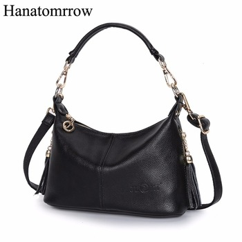 Luxury High Quality Female Messenger Bags Soft Women Handbags Ladies Shoulder Bags Genuine Leather Small Tote Crossbody Bags