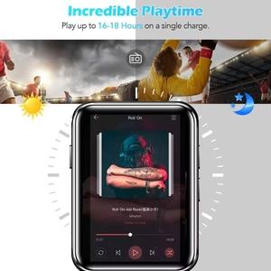 Image 5 - מיני ספורט נייד Bluetooth 5.0 MP3 נגן מתכת חזרה קליפ 1.8 אינץ HD מסך built רמקול באיכות גבוהה מוסיקה באיכות