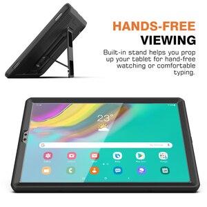 Image 4 - MoKo funda para Samsung Galaxy Tab S5e 2019, [Heavy Duty] a prueba de golpes cuerpo completo Rugged Stand Back Cover Built in Protector de pantalla