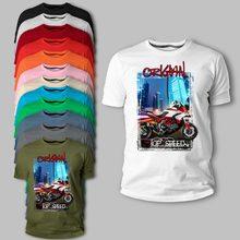 Italien Klassische Motorrad Motorrad Multistrada 1200 Adverture Schwarz Rot 2020 Sommer Marke Casual Lustige Baumwolle Neuheit T-Shirt