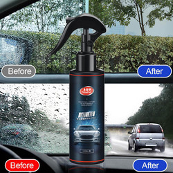 Vidro automotivo super agente de revestimento hidrofóbico agente à prova de chuva rearview chuva repelente windshield anti-chuva líquido impermeável