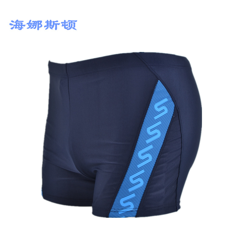 2016 New Style Swimming Trunks MEN'S Boxers Europe And America Fashion Printed Adult Large Size Beach Hot Springs Leveling Feet
