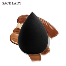 SACE LADY Cosmetic Puff Powder Puff Smooth Makeup Foundation Sponge Beauty Cosmetic make up sponge Puff la milee beauty makeup sponge powder puff smooth foundation sponges for lady make up high quality cosmetic puff tool 6 colors
