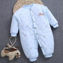 Комбинезоны для новорожденных осенне зимние комбинезоны с длинным